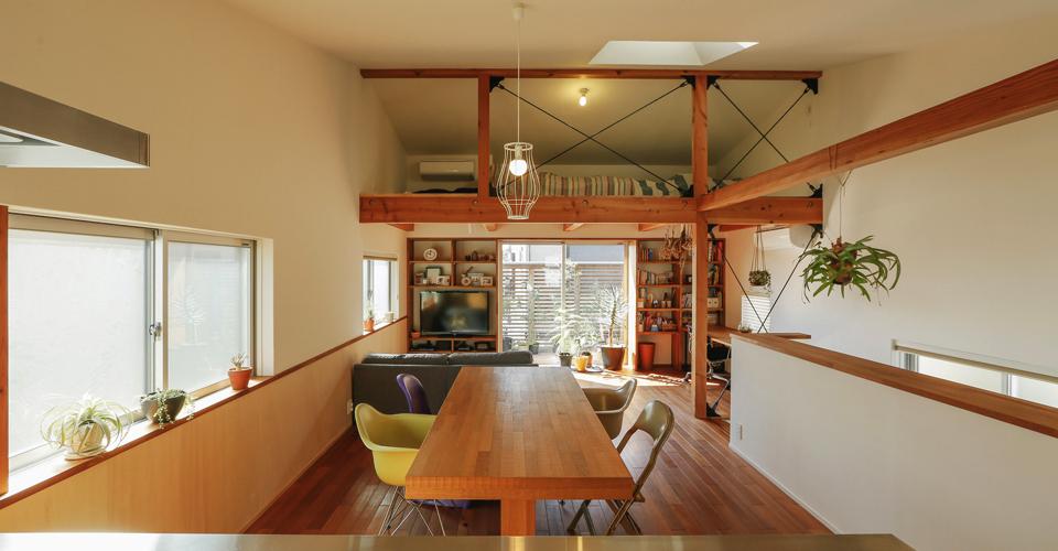 CLOVER ARCHITECTURE STUDIO/クローバー建築設計事務所|千葉県船橋市の設計事務所|デザイン、素材、居心地、住まいやすさにこだわった注文住宅を建築家と建てる
